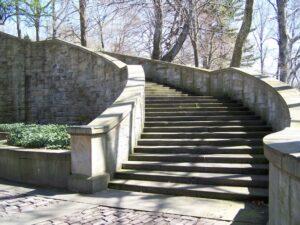 Italian Cultural Garden staircase