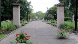 Entrance to Italian Cultural Garden